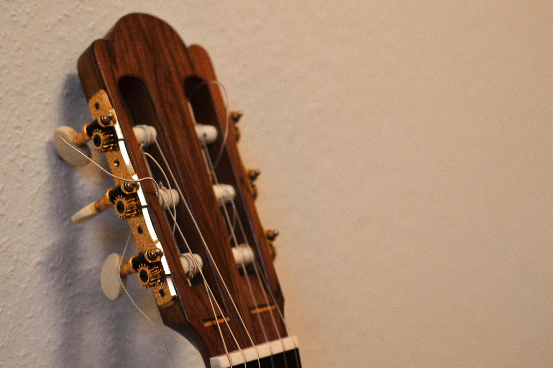 Eine Gitarre