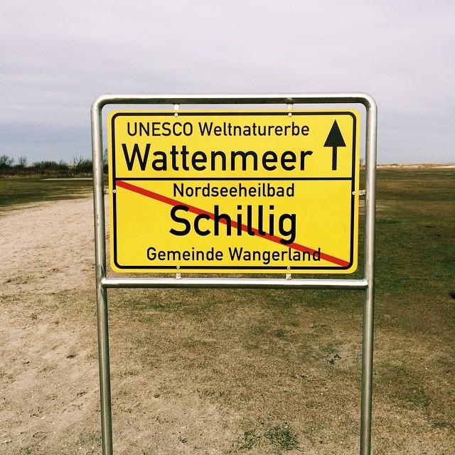 Ortsschild Schillig