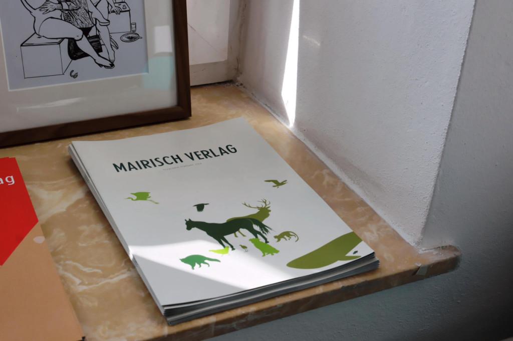 Programmheft Mairisch-Verlag