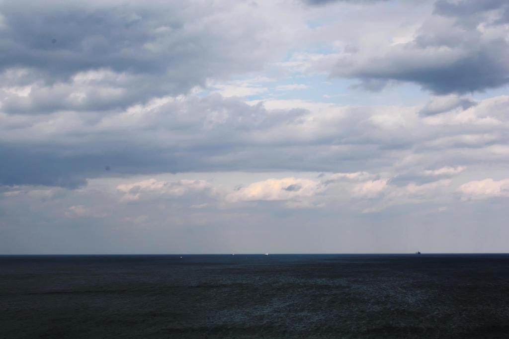 Die Ostsee vor Travemünde