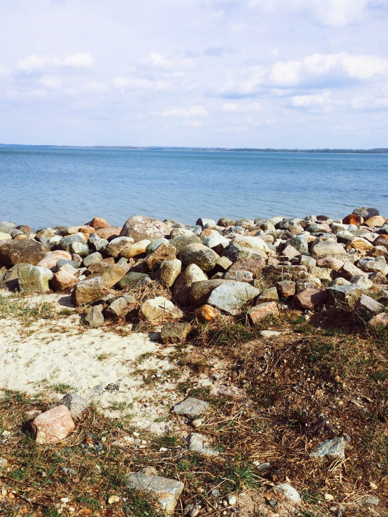 Steine vor Travemünde