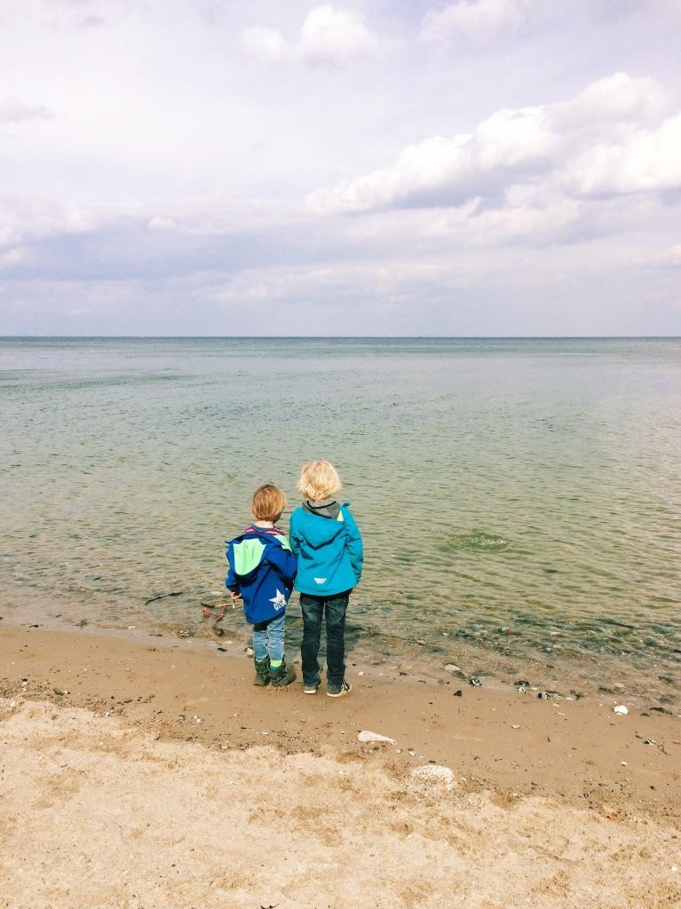 Die Söhne an der Ostsee