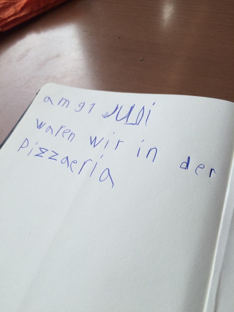 Notizbuch Sohn I