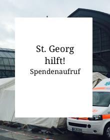 Spendenaufruf: St. Georg hilft!