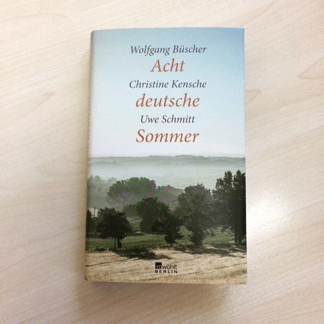 Buch: Acht deutsche Sommer
