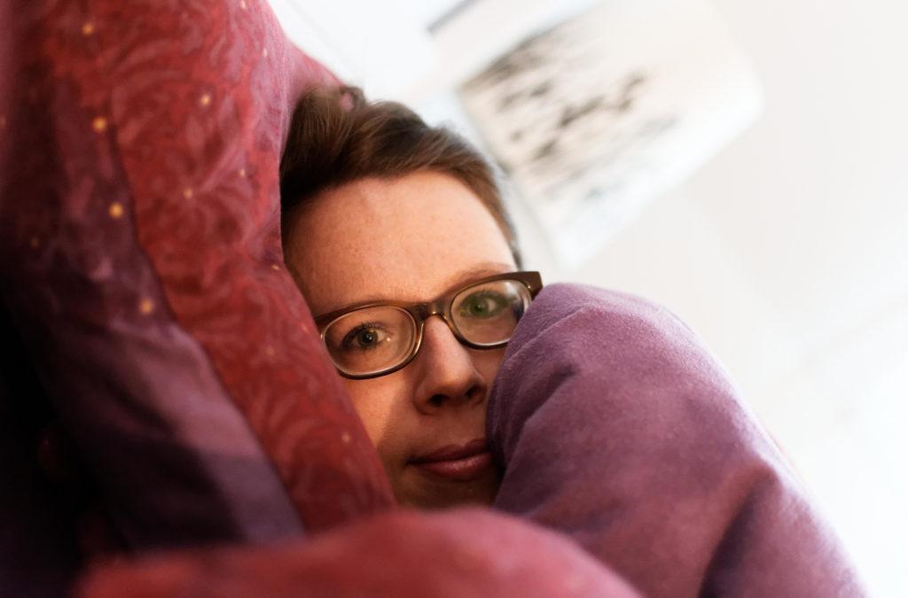 Die Herzdame im Bett