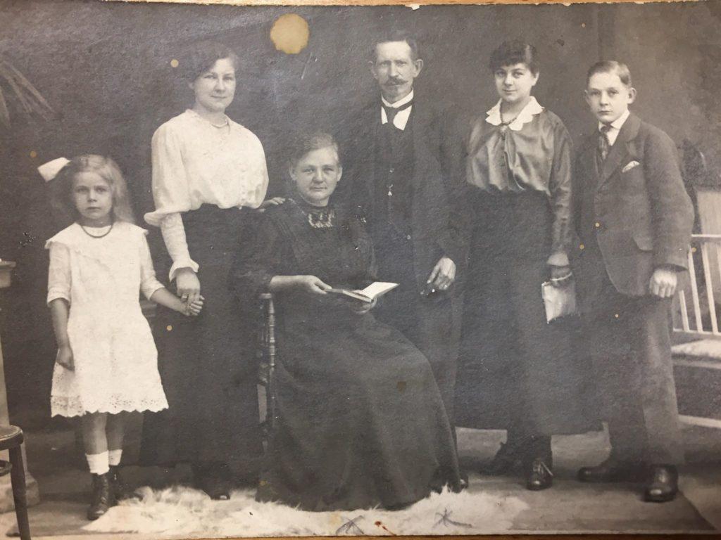Familienbild ca. 1916