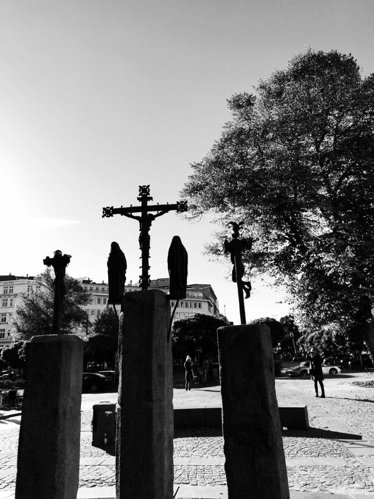 Bild Kreuzigungsgruppe Sankt Georg