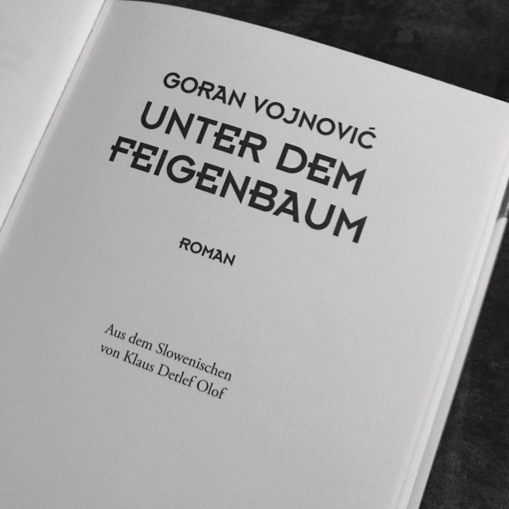 """Buchcover """"Unter dem Feigenbaum"""""""