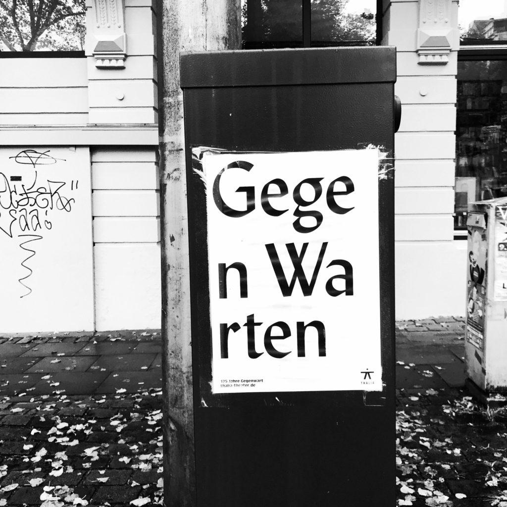 Thalia-Plakat: Gegenwarten