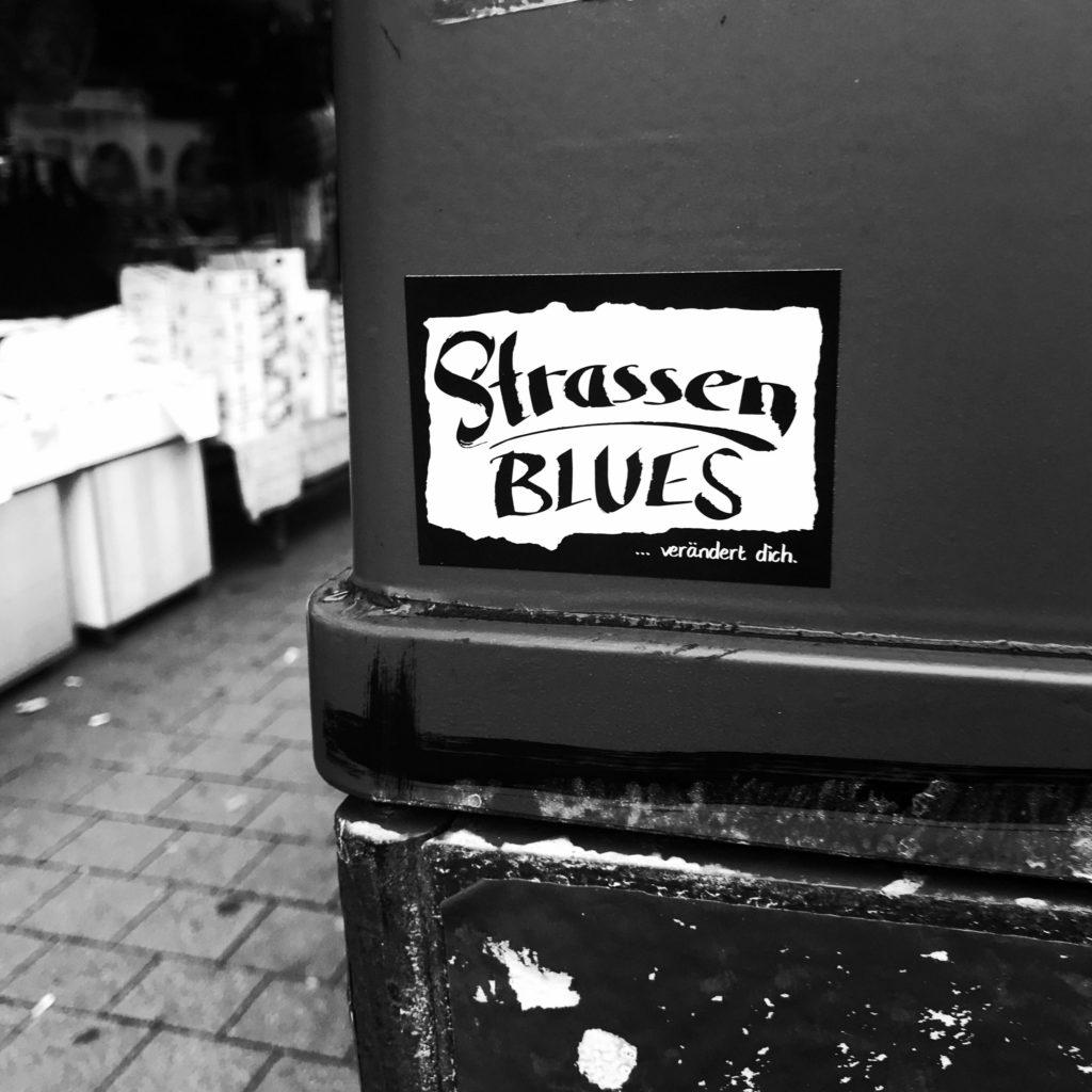 Aufkleber Straßenblues