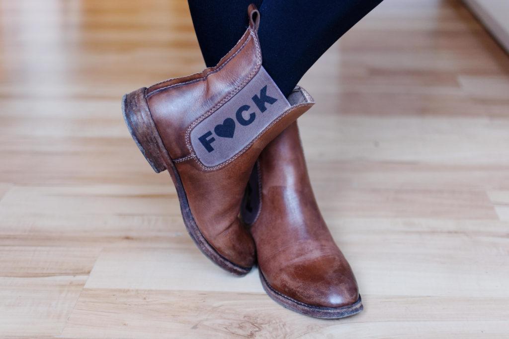 Die Schuhe der Herzdame