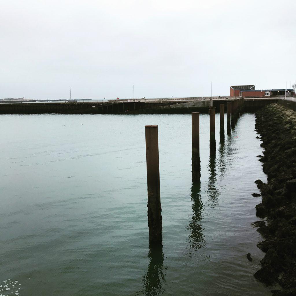 Helgoland, Hafenbecken